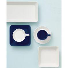 Iittala-Teema, blau by Kaj Franck Serveware, Tableware, Gadgets, White Houses, Cool Designs, Plates, House Styles, Finland, Product Design