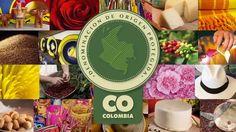 Sello de Denominación de Origen Protegida-Garantía de Calidad. Esto es Colombia una verdadera obra de arte. #quieroviajar