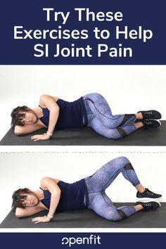 Si Joint Pain, Hip Pain, Neck Pain, Lower Back Pain Exercises, Hip Arthritis Exercises, Hip Strengthening Exercises, Hip Stretches, Stretching, Sacroiliac Joint Dysfunction