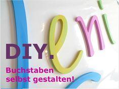 DIY Dekobuchstaben DIY von PAULSBECK Buchstaben, Dekoration & Geschenke auf DaWanda.com