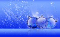 Blue christmas | ... Imágenes Gratis: Esferas azules para Navidad - Christmas blue shine