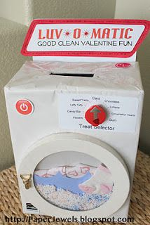 Washing Machine Valentine Box