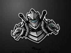 73 Strong Knight Logo Design Ideas for You Team Logo Design, Logo Desing, Mascot Design, Sport Design, Logo Esport, Knight Logo, Sports Team Logos, Esports Logo, No Photoshop