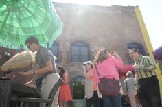 Diners on the patio of Mexican Radio in downtown Schenectady on Tuesday, May 5, 2015. The Downtown Schenectady Improvement District celebrated Cinco de Mayo by highlighting al fresco dining options in the city.