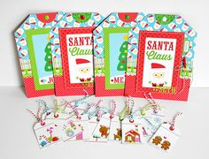 Doodlebug Design Inc Blog: Sugar Plum Gift Tags by Wendy Sue Anderson