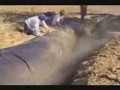 Barragem subterrânea(Lona Plástica) + Poço amazonas (Anel Pré-moldado)