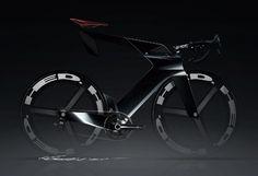 SpeedART bicycle rendering by  Ilya Vostrikov.