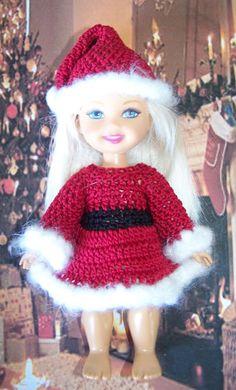 """Free Crochet Pattern for 6"""" Mattel Kelly Doll"""