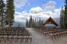 "A Ski Nut's Nuptials at Copper Mountain Resort in Frisco, Colorado: Drive in, drive out? Pffft. How about ski-in, ski-out? Tie the knot at over 11,000 feet, and then ski down the mountain with your wedding party at Copper Mountain Resort, where you can choose to make your ""reception"" a post-ceremony chairlift ride and ski with your wedding party and guests. If you prefer, you can skip the sweaty, sporty action while still getting married atop the actual mountain at Solitude Station, peering…"