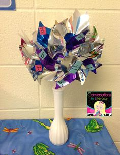 Pinwheels and Chunk Charts:  helping students to blend sounds in words