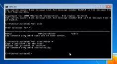 Cara mereset atau membobol password login Windows 7 dan 8