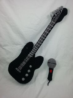 Ravelry: Rockin' Baby Fender Guitar by The Stitchhikers