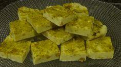 Shirpera (Afghan milk fudge)
