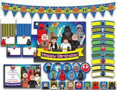 lego star wars printables