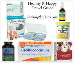 Staying Healthy & Comfortable While Traveling