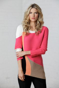 NIC+ZOE Graphic Tides Sweater  ON SALE!Need an escape, get this great cotton/rayon blend sweater  with all the right colors to make you feel and look great, the Graphic Tides sweater from NIC+ZOE clothing and apparel  50% Cotton, 38% Rayon, 6% Viscose, 6% Nylon,  Hand wash cold and lay flat to dry