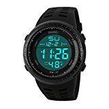 #9: LIGE Men's Military Waterproof Sports Watches Electronic Multifunction Alarm Digital Quartz Wristwatch (Black) | http://ift.tt/2cl82Sl shares men Watches collection #Get #men #watches #fashion