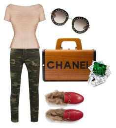 """""""Untitled #1"""" by liza-k-1 on Polyvore featuring Chanel and Gucci"""