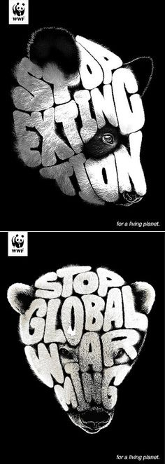 For a living planet - WWF ad campaign