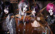#japan #j-rock #visukei #Fixer