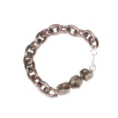 Pyrite Bracelet  by Alicia Mohr