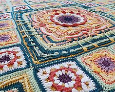Ravelry: Eve's Sunflowers pattern by Catherine Bligh