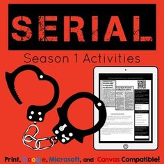 Serial Podcast Season 1 Introduction, Activities, and Lite