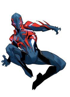Twitter Comics Spiderman, Spiderman Kunst, Spiderman Poses, Marvel Art, Marvel Heroes, Fantasy Character Design, Character Art, Comic Books Art, Comic Art