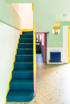 75 Modern staircase ideas: Transform your staircase into something extraordinary | Livingetc Recycled Brick, Victorian Townhouse, Modern Staircase, Staircase Ideas, Tiny Spaces, Apartment Interior Design, Built In Storage, Coastal Homes, Architect Design