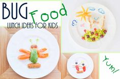Bug Themed Kid Lunch Ideas, Outdoor Activities, & The Love to ...