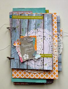 monbricascrap: Kit-atelier mini album pour Swirlcards