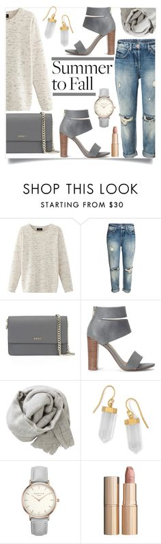 Untitled #1072 by kaymeans on Polyvore featuring Nolita, Splendid, DKNY, BillyTheTree, Brunello Cucinelli and Charlotte Tilbury