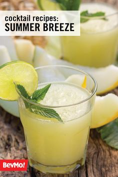 Get ready to try out a new refreshing cocktail with your party guests by checking out this recipe for Summer Breeze drink. All you'll need is citrus vodka, melon liqueur, and dry vermouth from BevMo!