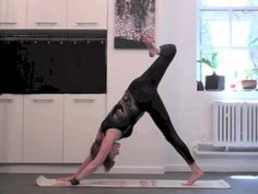 20 Min Super Weight Loss/Core Strength with Sadie Nardini. LOVE HER! I record her Rock Your Yoga on Dish's Veria.