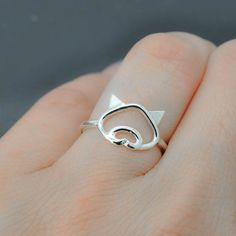 Pig ring little piggy ring 925 sterling silver animal ring