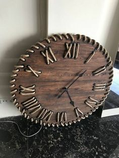 Ways To Start WoodworkingTable clock for a small and personal touch to any master wood collector (Woodworking Art)woodworking - West Elm Inspired Wooden Plant StandsDiy wood wall, Diy clock wall, Wood clocks, Diy clock, Diy Woodworking Projects Diy, Diy Wood Projects, Wood Crafts, Woodworking Plans, Woodworking Quotes, Woodworking Basics, Woodworking Workshop, Wall Clock Design, Clock Wall