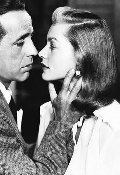Happy Valentine Day ! Humphrey Bogart & Lauren Bacall