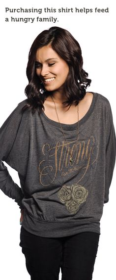Flowwy tee. Cute, great design, AND saves lives. Click on the pic to buy one. http://svnly.org/Keegen