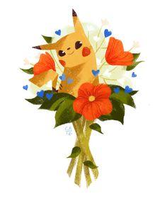 "eychristine: "" more quick flora! with some of my recent pokemon go favorites ヾ(´▽`; Type Pokemon, All Pokemon, Pokemon Stuff, Tree Illustration, Floral Illustrations, Pikachu Evolution, You Are The Sun, Pokemon Special, Kawaii"