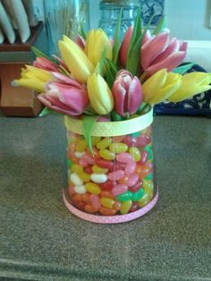 Easter Centerpiece by my fabulous daughter, Ali