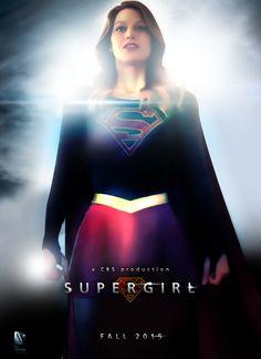 Supergirl Fan Poster by ManePL.deviantart.com on @DeviantArt