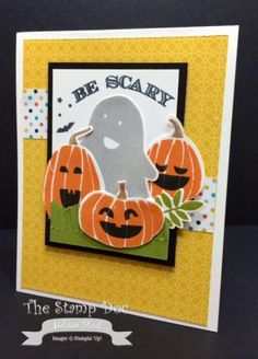 Halloween Card, Be Scary SUO FMS149 by mstout928 - Cards and Paper Crafts at Splitcoaststampers