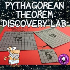Teaching the Pythagorean Theorem with hands-on discovery lab.