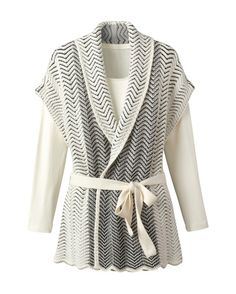Kimono cardigan - [K10768]