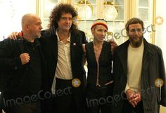 Annie Lennox, Brian May, Peter Gabriel, Yusuf Islam Photo - London. Peter Gabriel, Brian May, Annie Lennox and Yusuf Islam at the '46664 The Concert' Book Launch Photocall at The Dorchester Hotel. 25 November 2004  Paulo Pirez/Landmark Media