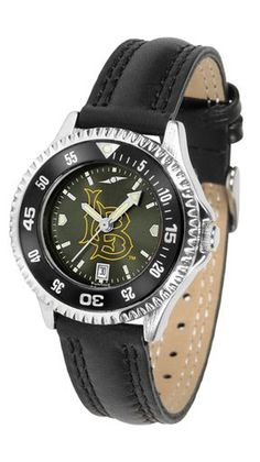 NCAA Long Beach State 49ers Competitor Ladies' AnoChrome Color Bezel Watch