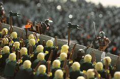 Bataille du seigneur des anneaux avec 150 000 pièces de LEGO