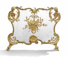 c1900 A FRENCH ORMOLU FIRESCREEN ATTRIBUTED TO FRANÇOIS LINKE AND MAISON BOUHON FRÈRES, PARIS, CIRCA 1900 Price realised GBP 14,375