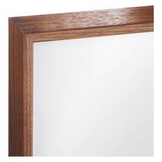 "DIAGONAL 18 x 24cm/ 7 x 9.5 walnut veneered picture frame"""