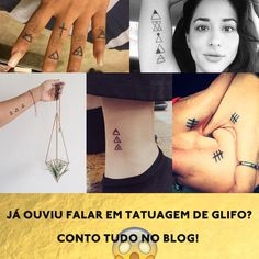 Tatuagens Glifo. ( #tatuagem #gliphtattoo #tatuagemglifo #tattoo )